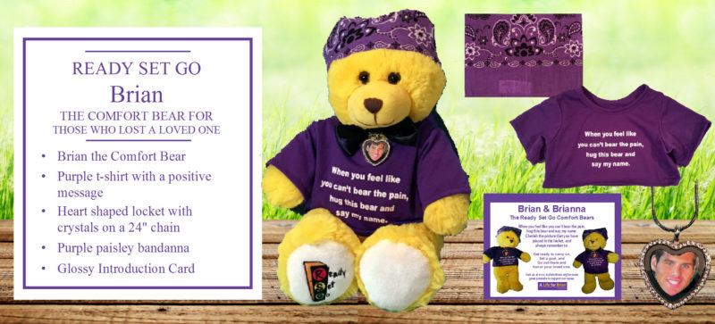 Brian the Ready Set Go Comfort Bear