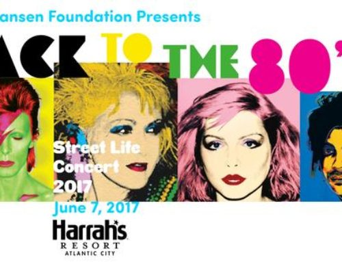 Carol at Back to the 80's concert hosted by The Hansen Foundation