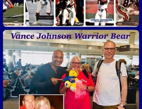 Vance Johnson and A Life For Brian